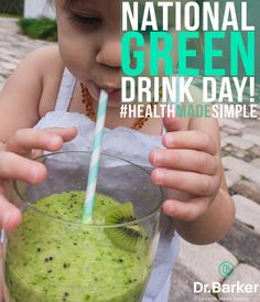 """150 Likes, 10 Comments - Dr. Chris Barker (@drchrisbarker) on Instagram: """"You know we love this one- today is National Green Drink Day! Below is an easy recipe my wife makes…"""""""