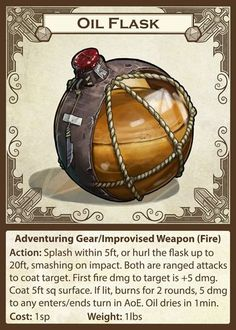 "pantmonger: "" As a side project for my own Dungeons and Dragons games I have been practicing my concept and making Adventuring Gear art. I popped them on Cards to see how they would work. I'm quite..."