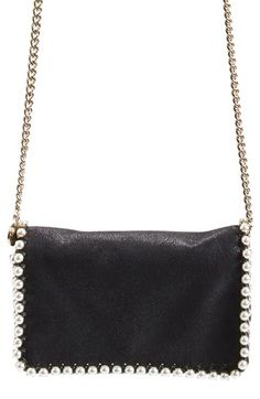 Stella McCartney 'Falabella' Embellished Faux Leather Crossbody Bag