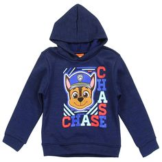 Nick Jr Paw Patrol Chase The Police Dog Pullover Toddler Boys Hoodie Sizes - Houston Kids Fashion Clothing Store The Woodlands Texas Boys And Girls Clothes, Toddler Boy Outfits, Outfits For Teens, Toddler Boys, Toddler Fashion, Nick Jr Paw Patrol, Boys Hoodies, Sweatshirts, Boy Models