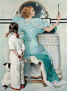 Vanity •~• Norman Rockwell