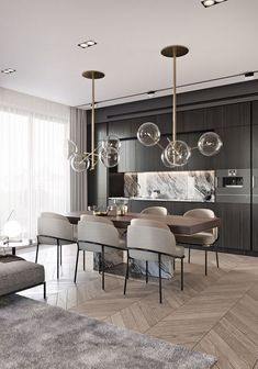 Contemporary home decor and lighting ideas, interior designer's works. Design … Contemporary home decor and lighting ideas, interior designer's works. Stylish Home Decor, Modern Dining Room, Living Room Decor, Modern Glass Dining Table, House Interior, Contemporary Home Decor, Dining Suites, Home Interior Design, Interior Design
