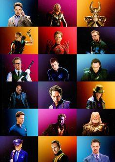 Men of Marvel (movie 'verse) Just so much goodness