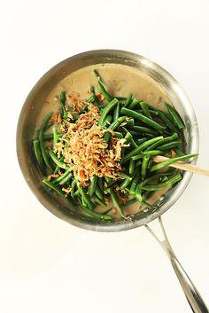 Vegan Green Bean Casserole | 21 Modern Make-Ahead Casseroles