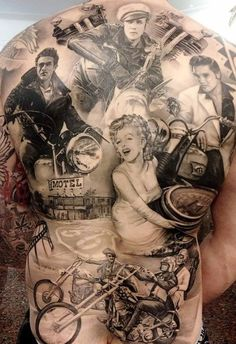 40 Amazing Motorcycle Tattoos |