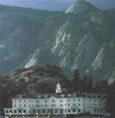 Stanley Hotel in Estes Park Photo.. I'm kinda skeered to go there, but I'll do it!