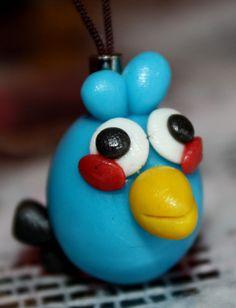 Mini llavero - Blue Bird