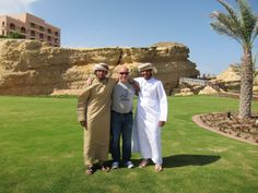 Omani people are friendly and caring.