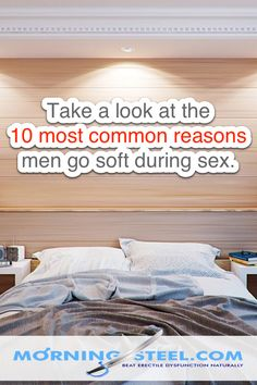 10 Reasons Men Go Soft During Sex - And how to keep it Hard Mans Health, Blood Pressure Medicine, Boost Testosterone, Hard Men, Muscle Up, Most Common, Man Go, Sex And Love, Just Friends