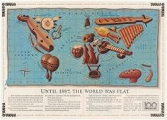 Until 1887, The World Was Flat. 1987