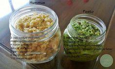 Jacki's Feed - Home-made Hummus and Pesto