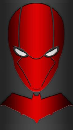 Red Hood Mask and Chest logo request by KalEl7 on DeviantArt