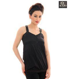 Kazo Splendorous Black Designer Top(80015Black) ce39b95f2