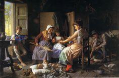 ✧Dipinto del pittore Giovanni Battista Torriglia. Nato a Genova nel 1857✧