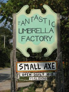 The Umbrella Factory, Rhode Island     Best rainy day place to visit when staying at the beach