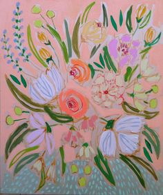 FLOWERS FOR TARA - 20X24 | Lulie Wallace