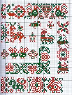 Gallery.ru / Фото #4 - Motif scandinaves traditionnel - Mongia