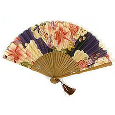 Japanese folding paper fan
