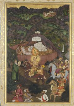 Shah-Jahan visits the shrine of Khwaja Mu'inuddin Chishti at Ajmer (November on the Emperor's return from Daulatabad, when he would have been forty-five years old Islamic Paintings, Mughal Paintings, Royal Collection Trust, Iron Man Wallpaper, Religious Books, Mughal Empire, Museum, Medieval Clothing, Illuminated Manuscript