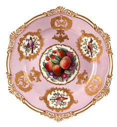 Russian Imperial Porcelain Nicholas I Plate 1840s