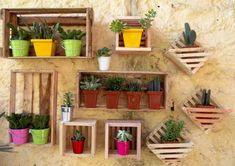 Reciclagem criativa para enfeitar o jardim  004