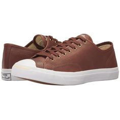 Converse Jack Purcell - Ox (Mustang) Shoes ($80) ❤ liked on Polyvore featuring shoes, grommet shoes, converse footwear, lace up shoes, converse shoes and laced shoes