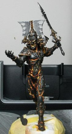 Warhammer 40k, Another Eldar Avatar from Forgeworld, awesome model. Just can't get enough of it!