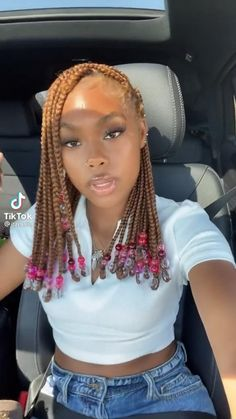 Feed In Braids Hairstyles, Box Braids Hairstyles For Black Women, Braids Hairstyles Pictures, Girls Natural Hairstyles, Black Girl Braids, Baddie Hairstyles, Braids For Black Hair, Girls Braids, Protective Hairstyles