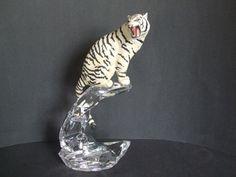 Franklin Mint Franklin Mint, Lion Sculpture, Porcelain, Statue, Crystals, My Style, Ebay, Art, Art Background
