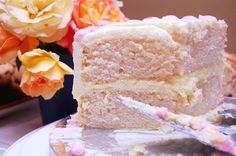Champagne cake - always looked for a recipe - was our wedding cake flavor.