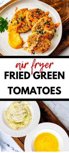 Looking for the best ever Low Carb Fried Green Tomatoes?  This is it!  You can make this recipe with confidence and know that the whole crowd will love it.  With almond flour, parmesan cheese, and  perfect seasonings, this easy appetizer recipe is a crowd pleaser!  #ketoappetizers #keto #lowcarb Low Carb Appetizers, Easy Appetizer Recipes, Appetizer Ideas, Low Carb Recipes, Real Food Recipes, Fried Green Tomatoes, Salisbury Steak, Recipes For Beginners, Air Fryer Recipes