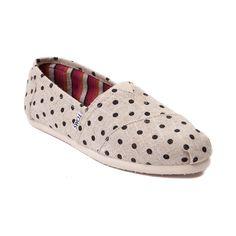 Womens TOMS Classic Hemp Slip-On Casual Shoe
