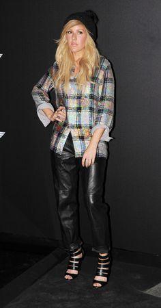 Ellie Goulding's Leather Pants