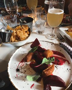 #dining #dinner #food #iceland #travel #food Iceland Travel, Gnocchi, Beets, Fries, Alcoholic Drinks, Dinner, Healthy, Food, Dining