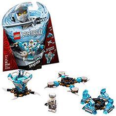 Amazon.com: LEGO NINJAGO Spinjitzu Zane 70661 Building Kit (109 Pieces): Toys & Games Legos, Minifigura Lego, Buy Lego, Lego Ninjago Spinners, Ninjago Lego Sets, Katana, Ninjago Spinjitzu, Spinner Toy, Mythical Creatures Art