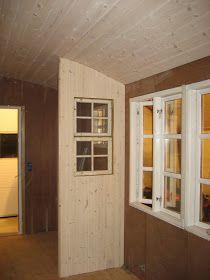 Fru Pedersens have: Sådan byggede vi skurvognen til haven. Living Room Interior, Interior Design Living Room, Design Trends, Garage Doors, Loft, Architecture, Outdoor Decor, Furniture, Container