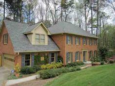 Grey Blue Shutters Tan Trim Orange Brick Houses House Colors Color
