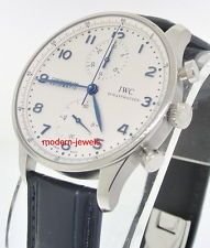 IWC Portuguese Chrono Automatic Watch IW371446 - Deployment Buckle IW3714-46 !
