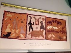 Pictorial Quilt by Harriet Powers Museum of Fine Arts Boston Lithograph | eBay