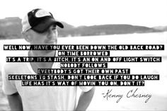 Kenny Chesney Lyrics -Don't It .... The Big Revival .... No Shoes Nation !