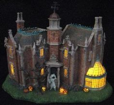 not dept 56 but still an amazing piece disney village haunted mansion