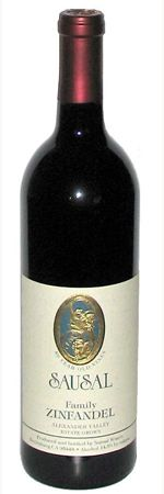 """Sausal Zinfandel Alexander Valley Family 50 Year Old Vines 2009.    88 Points.  """"Zesty and appealingly briary, with easygoing notes of dried cherry, licorice and black pepper. Tannins sneak in on the finish. Drink now through 2017.""""  We recommend you pair this wine with a creamy cheese pasta alfredo or stroganoff. This wine will also lend itself beautifully to a heavy cheeses like a blue, or a mushroom covered fillet."""