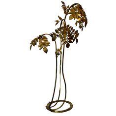 Brass Tree Floor Lamp, Tommaso Barbi