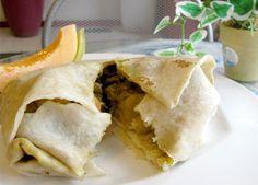 Curry Chicken Roti - Trini Style - my favorite boneless with, channa, curry mango, bodi, slight pepper & extra pumpkin