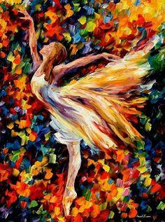 Ballerina Wall Art - Beauty Of The Dance — Palette Knife Ballet Oil Painting On… Oil Painting On Canvas, Painting & Drawing, Canvas Art, Oil Canvas, Painting Trees, Acrylic Canvas, Figure Drawing, Dance Paintings, Fine Art