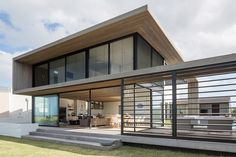 Light woods for this home on the beach of Omaha: http://www.playmagazine.info/light-woods-home-beach-omaha/