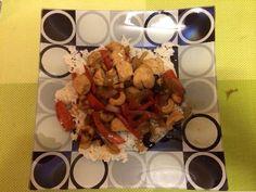 Poulet sauté aux noix de cajou (Chinois) - Recette de cuisine Marmiton : une recette