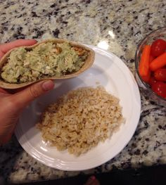 Great Healthy Lunch Idea - Tuna, 1/4 avacado, and walnuts in half of a whole wheat pita. Delish! 21 Day Fix Approved! Visit Jackie's Inspiring Journey on Facebook for more ideas and inspiration!