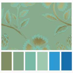 Palette Art, Blue Palette, Pastel Palette, Color Schemes Colour Palettes, Color Pallets, Paint Pallets, Colored Pencil Techniques, Art Drawings For Kids, Color Meanings