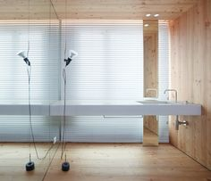 Baas Arquitectura, estudio de arquitectura barcelona - really original washbasin installation